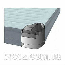 Ортопедическая надувная флокированная кровать Intex 67770, фото 2