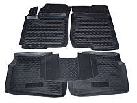 Коврики в салон Hyundai Santa Fe 2012- (5 шт) каучук ТЭП