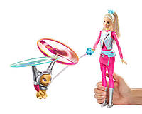 Кукла Барби Старлайт и летающий кот. Barbie Star Light Galaxy Barbie Doll & Flying Cat.