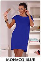 Платье-туника Монако, мини платье яркое летнее, платье свободного кроя. Разные цвета и размеры. Розница, опт.
