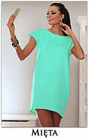 Платье-туника Монако, мини платье яркое летнее, платье свободного кроя. Разные цвета и размеры. Розница, опт., фото 1