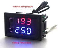 Терморегулятор (термостат) в корпусе (-50 +110С) DC 12V