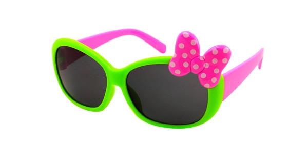Красивые модные солнцезащитные очки для девочки Джения