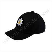 Тактическая бейсболка, кепка черная для полиции