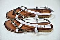 Сандалии женские белые Jeiday, фото 1