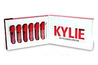 Набор блесков для губ от Кайли Дженнер Kylie matte liquid lipstick