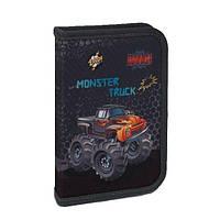 Пенал школьный Zibi 2017 прямоугольный Monster Truck   (ZB17.0501TK)