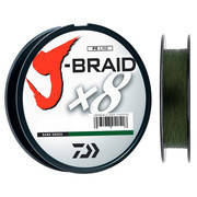 Шнур Daiwa J-Braid X8 0.06mm 150m Dark Green