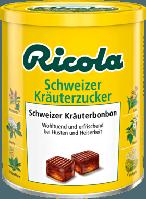 Ricola Schweizer Kräuterzucker Bonbon - Натуральные швейцарские травяные леденцы при кашле и хрипоте, 250 г