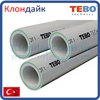 PPR Tebo труба армированная стекловолокном (Fiber) D 90
