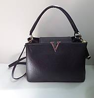 Модная женская сумка черная реплика Victoria Beckham