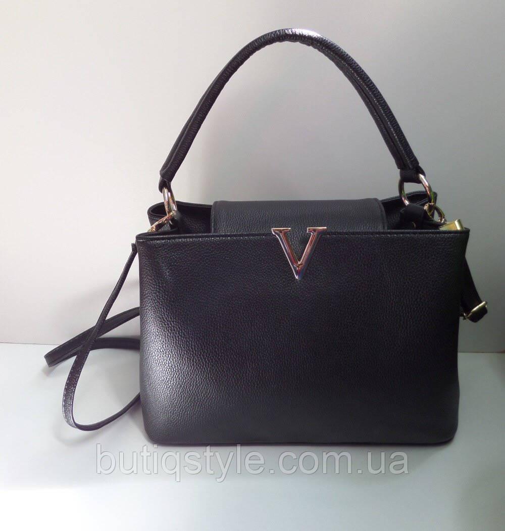 2163ecdfcb99 Модная женская сумка черная реплика Victoria Beckham -