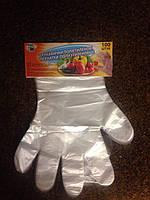 Перчатки полиэтиленовые Караван