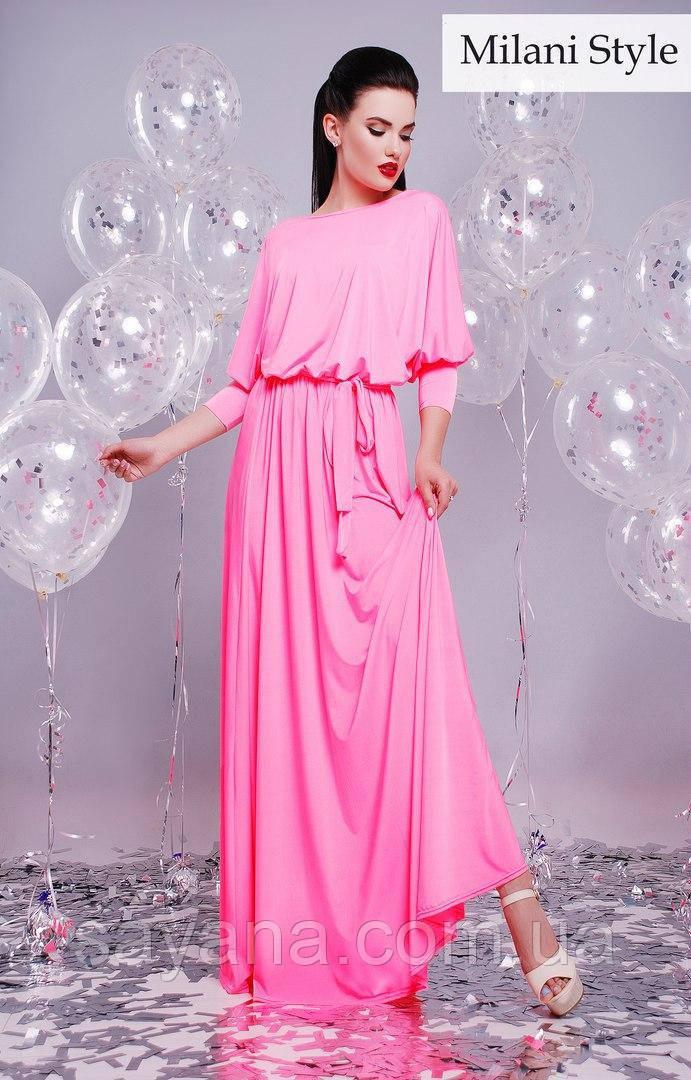 Женское модное платье в расцветках. К-102-0617