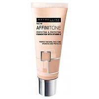 Тональный крем для лица Maybelline Affinitone Совершенный тон 14 Creamy Beige