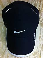 Бейсболка Nike из плащёвки т. синяя с белым кантом 59-60