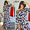 Женское шелковое платье в расцветках. К-105-0617, фото 2