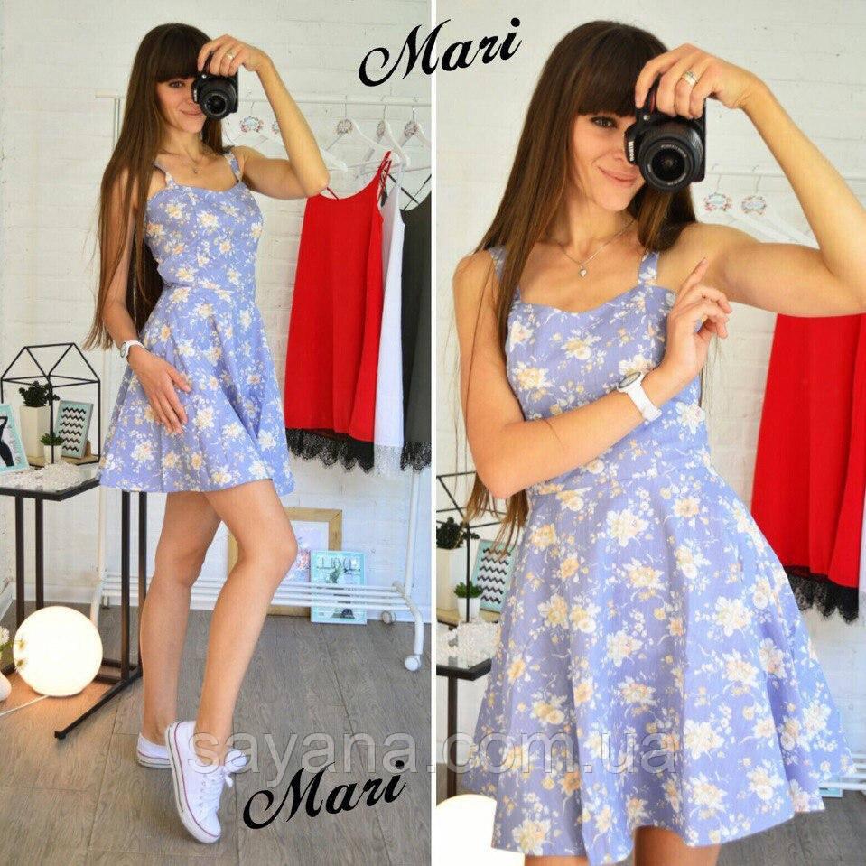 Женское стильное платье в расцветках. К-106-0617