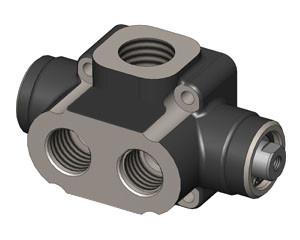 Гидравлический распределительный клапан OMFB 3-WAY 2-POSITION