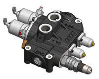 Гидравлический распределительный клапан OMFB DM 250 двухсекционный