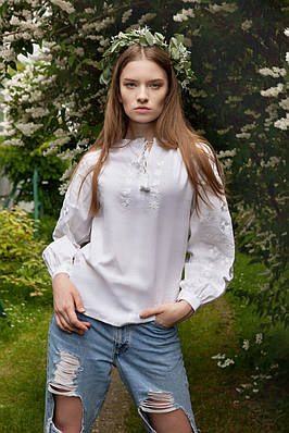 Сорочка Зірка біла