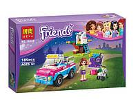 Конструктор Bela 10555 серия Friends / Подружки Исследовательская машина Оливии (аналог Lego Friends 41116)