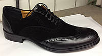 Замшевые мужские туфли украинского производителя. Оптом и в розницу, Размер 39-45