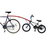 Trail-Gator Соединитель взрослого и детского велосипедов The Bicycle Tow Bar