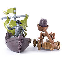 Лесаро с катапультой, На абордаж, The Pirates of Caribbean