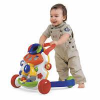Chicco Ходунки ребенку Baby steps activity walker white
