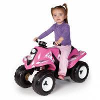 Smoby Электроквадроцикл Girly Quad 033054