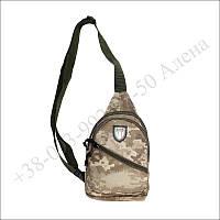 Тактическая барсетка, городская сумка, через плечо для военных, армии пиксель