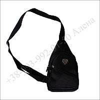 Тактическая барсетка, городская сумка, через плечо для военных, армии черная
