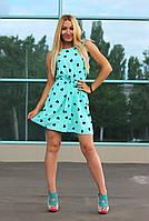 Платье женское модное с поясом арт.417, фото 1