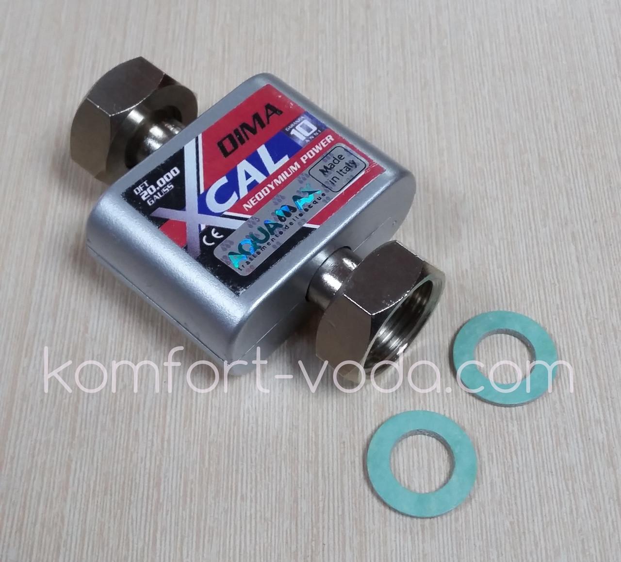 """Магнитный смягчитель воды XCAL DIMA 1/2""""  20.000 Gauss"""