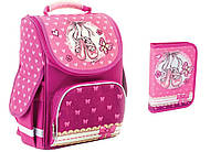 """Комплект. Рюкзак школьный каркасный Ballet 553328 + пенал, ТМ """"Smart"""""""