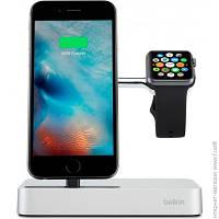 Док-станция Belkin Charge Dock iWatch + iPhone (F8J183vfSLV-APL)