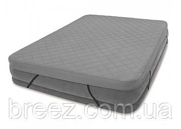 Наматрасник для надувной кровати Intex 69643, 203 х 152 х 10 см, фото 2