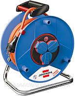 Удлинитель на катушке 25 метров; 3 розетки; AT-N07V3V3-F 3G1,5; Bretec®, фото 1