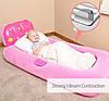 Детская надувная кровать с проэктором Bestway 67496 132 х 76 х 46 см, фото 2