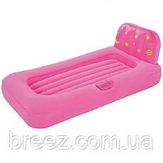 Детская надувная кровать с проэктором Bestway 67496 132 х 76 х 46 см, фото 3