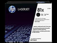 HP 81X LJ M605/M606/M630 Black (25000 стр)