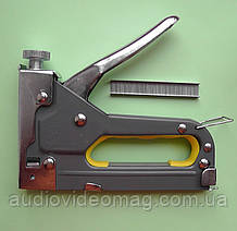 Степлер будівельний механічний для скоб 6-14 мм