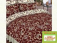 Евро двуспальное постельное бельё Viluta (Вилюта) ранфорс, арт 5400