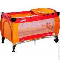 Детский Манеж Caretero Medio Classic orange/red
