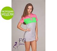 """Платье с капюшоном """"Trio look"""" - распродажа модели"""