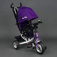 *Велосипед 3-х колёсный Best Trike Фиолетовый арт. 6588 (колеса пена)