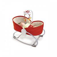 Кресло-кроватка-качалка 3 в 1 Tiny Love Мамина любовь красное (1801006830)