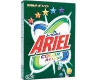 Порошок стиральный Ariel Color De Lux автомат 450г