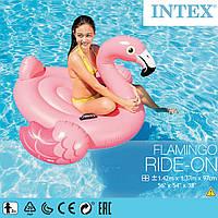 Надувной плотик Фламинго Intex 57558